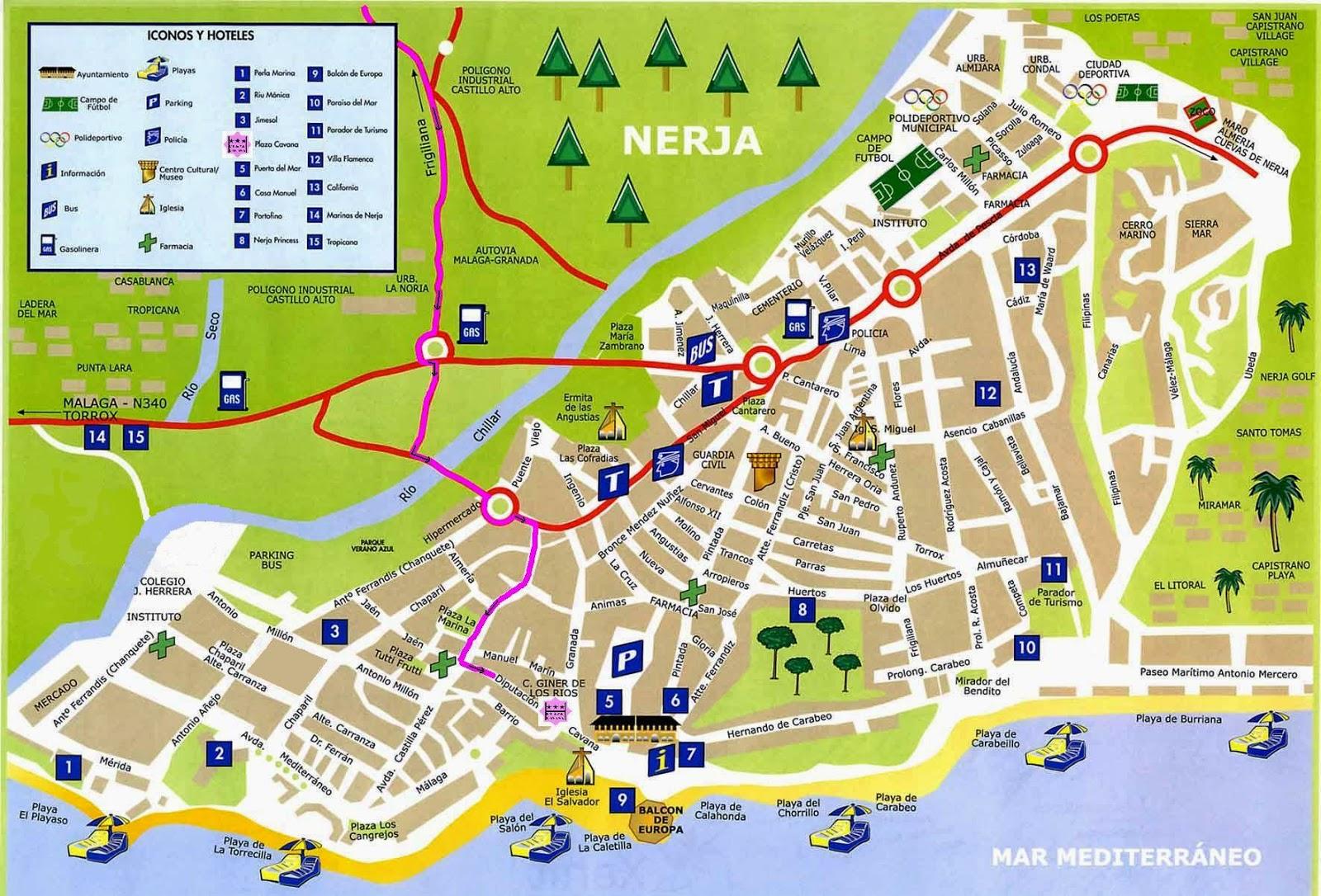 Nerja e la costa del sol orientale ramingo dentro for Oficina de turismo nerja