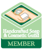 Member of the Handcrafted Soap & Cosmetic Guild