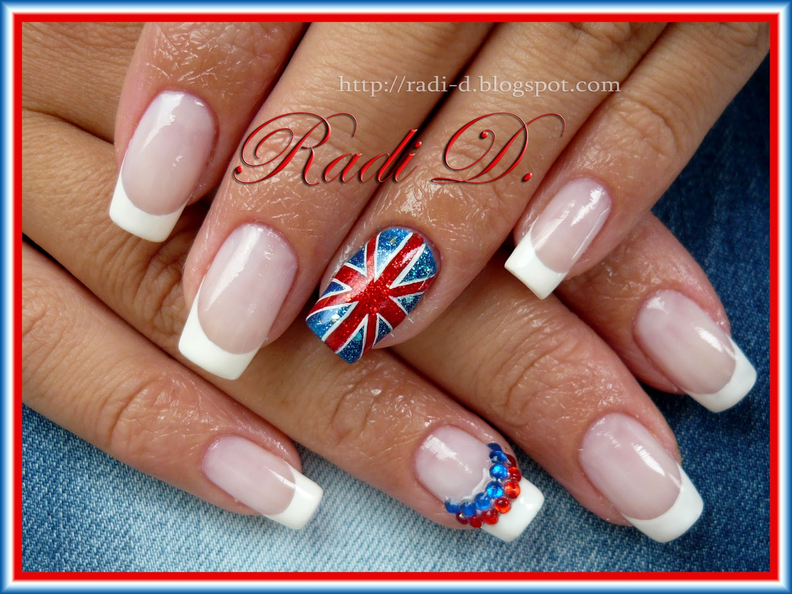 It`s all about nails: The British Flag