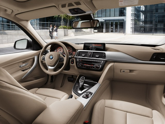 2013 BMW 328i Sports Wagon interior