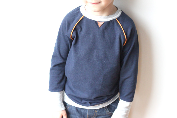 Upcycled Boys Recess Raglan