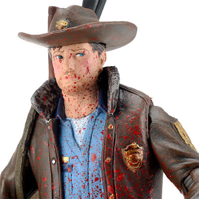 New York Comic-Con 2011 Exclusive Blood Splattered Rick Grimes The Walking Dead Action Figure
