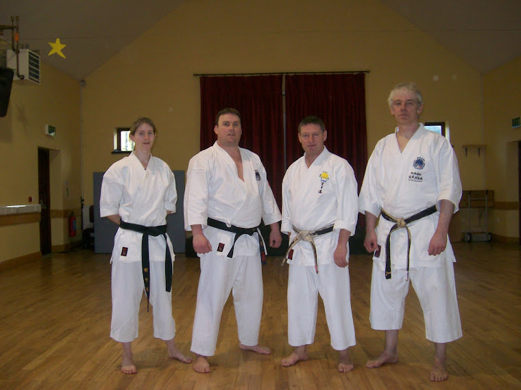 Some of IJKA Ireland's Instructors