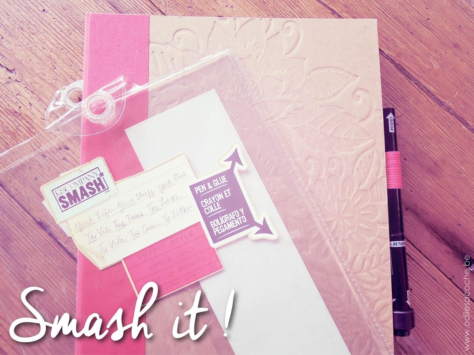 smash book K&Company