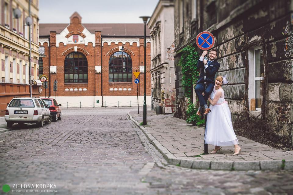 fotograf na wesele Krakow zdjecia na kazimierzu