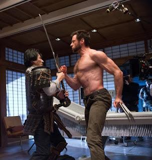 The Wolverine Hugh Jackman Hiroyuki Sanada