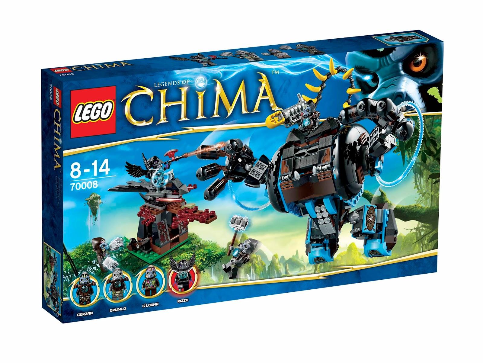 Unofficial blog about lego legend of chima lego chima - Lego chima saison 2 ...