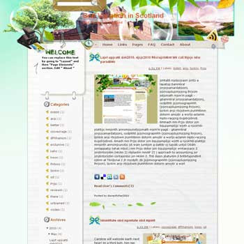 Golf Vacation in Scotland blogger template from wordpress. travel blog template. template blog from wordpress. travel blog template. template travel for blogger. travel template for blog. sport template for blog