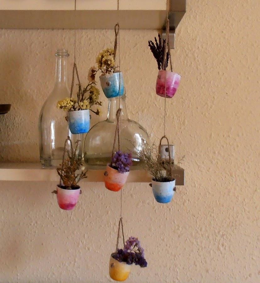 40 ideas de reciclaje y manualidades para el jard n plantas - Manualidades faciles reciclaje ...