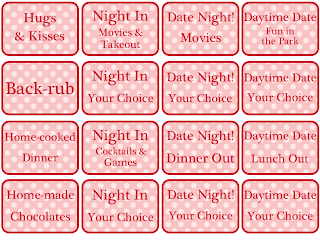 Unfortunately Oh!: Printable: Valentine's Coupons