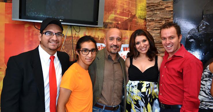 """Conferencia de prensa de la película guatemalteca """"Trip"""""""