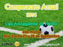2da. Ronda Campeonato Anual 2014