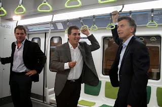 Se reinauguró la linea A de subterráneo