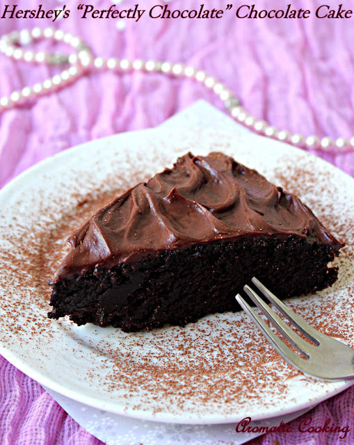"... Cooking: Hershey's "" Perfectly Chocolate "" Chocolate Cake -..."