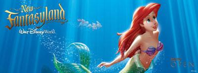 Ariel at the New Fantasyland