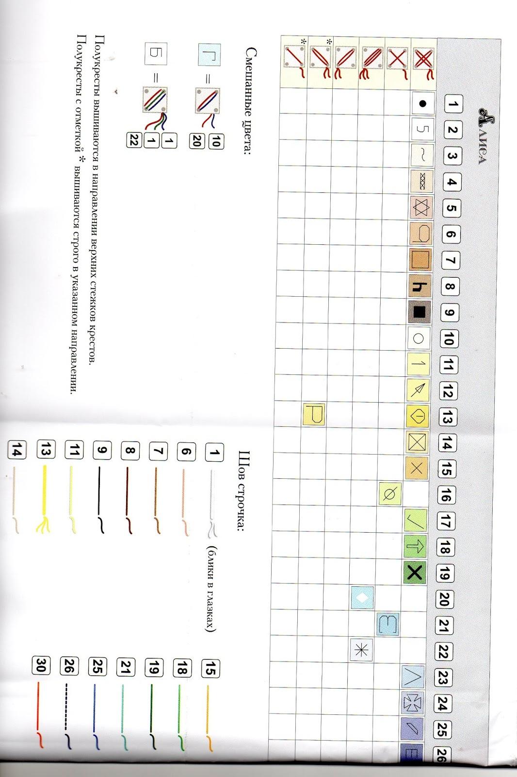 Схемы к вышивкам золотое руно