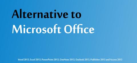Alternative to Microsoft Office