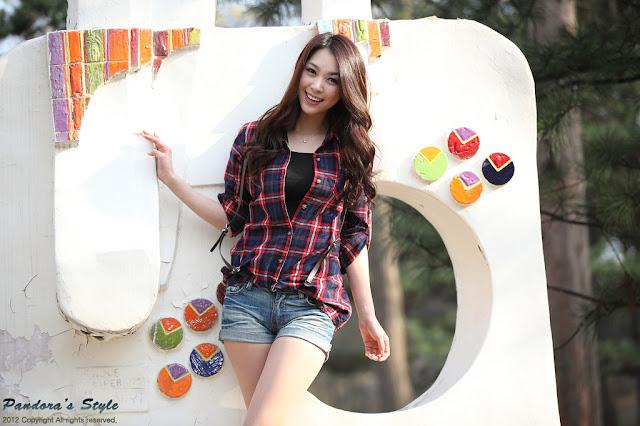 1 Ju Da Ha - Outdoor-very cute asian girl-girlcute4u.blogspot.com