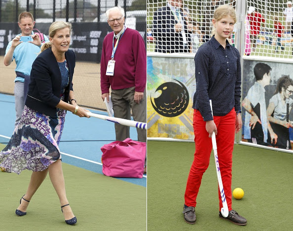 Sophie, Countess Of Wessex Attends The Unibet EuroHockey Championships