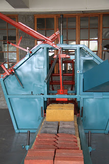 Brick Making Yard static machinery