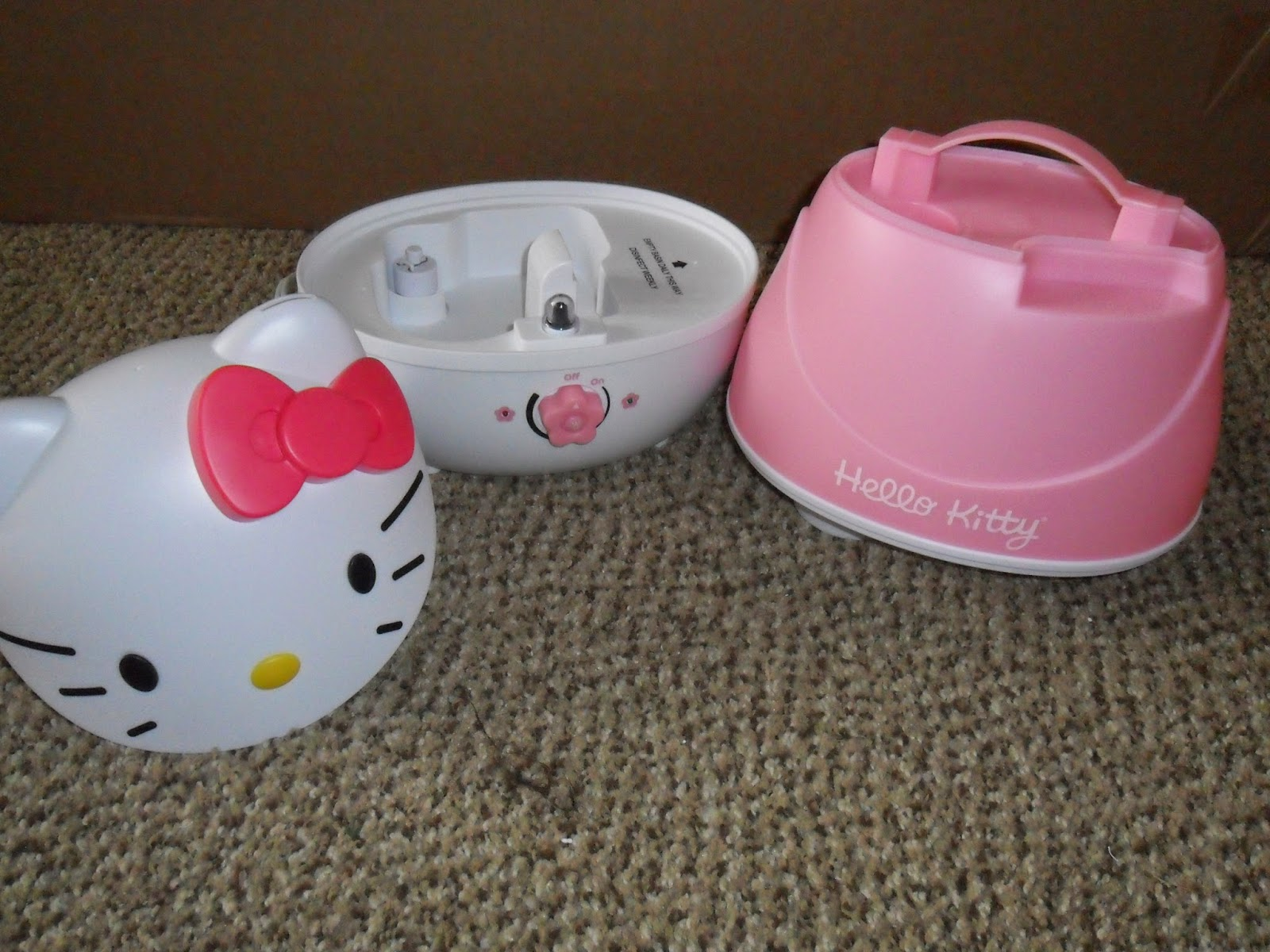 Hello Kitty Comfort Crane Cool Mist Humidifier