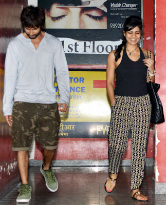 shahid kapoor and his girlfriend 2013  Shahid Kapoor's New Girl Friend