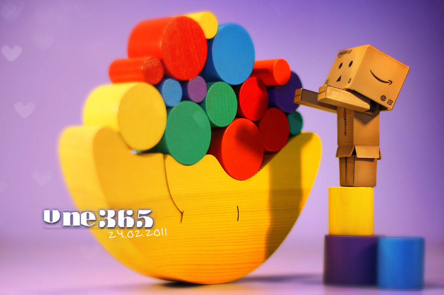 My experiment: Danbo