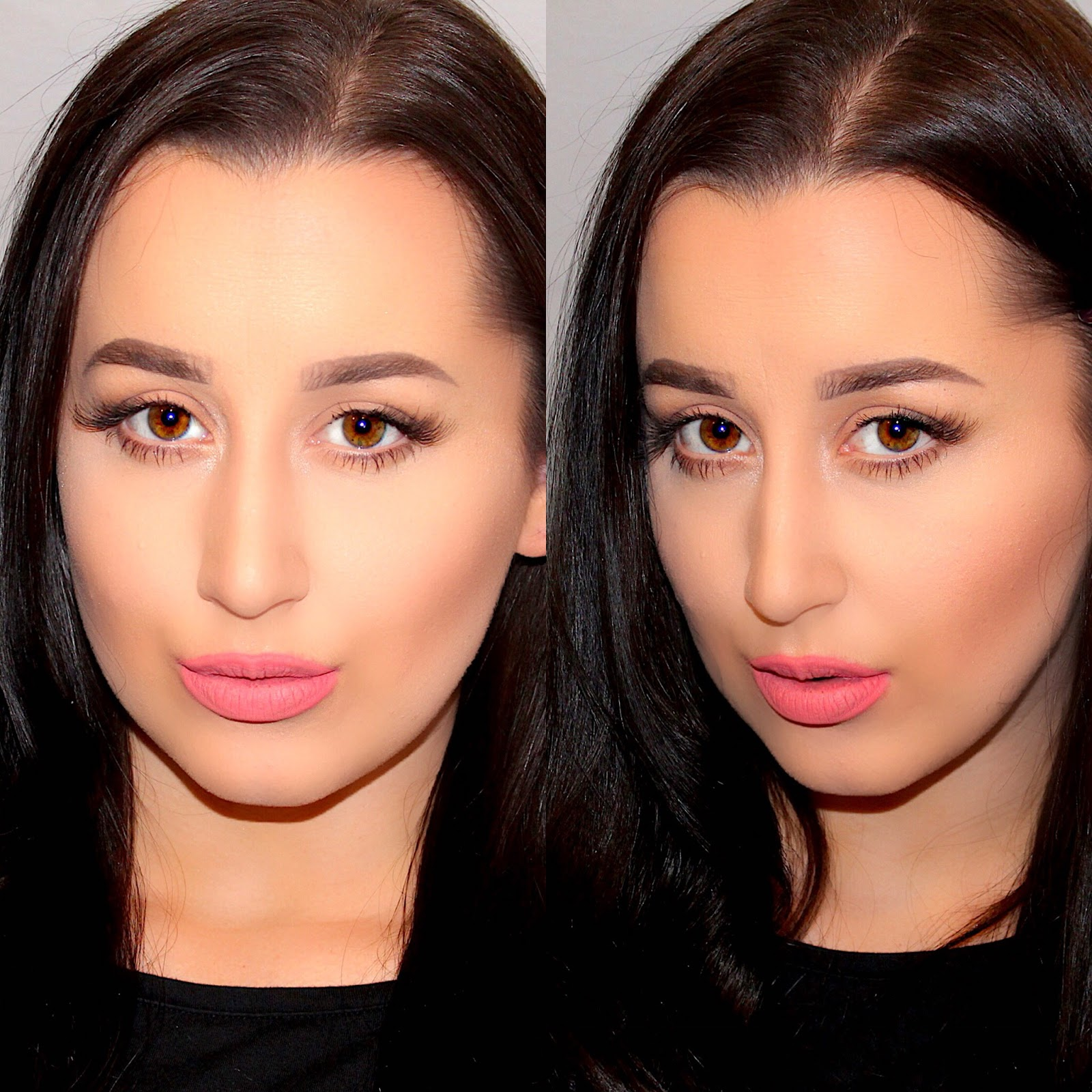 Ashley riley december 2015 makeup beauty and style how to do a simple everyday eye contour and makeup tutorial baditri Images