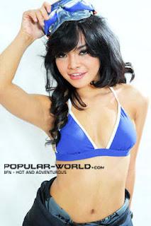 Tiara Sakti for Popular World Magazine BFN, January 2013 (Part 1)