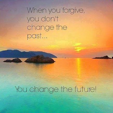 Forgive --not for the other person--but for YOURSELF.
