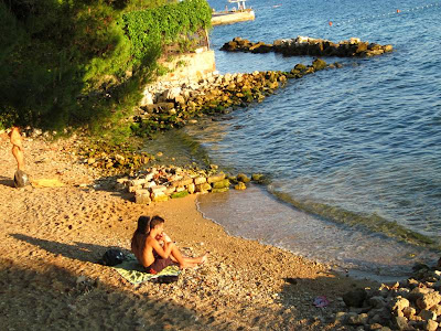 Beach in Zadar