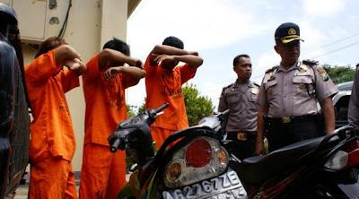 Sindikat Curanmor! Pemuda dari Panggul Trenggalek di Tangkap Polisi