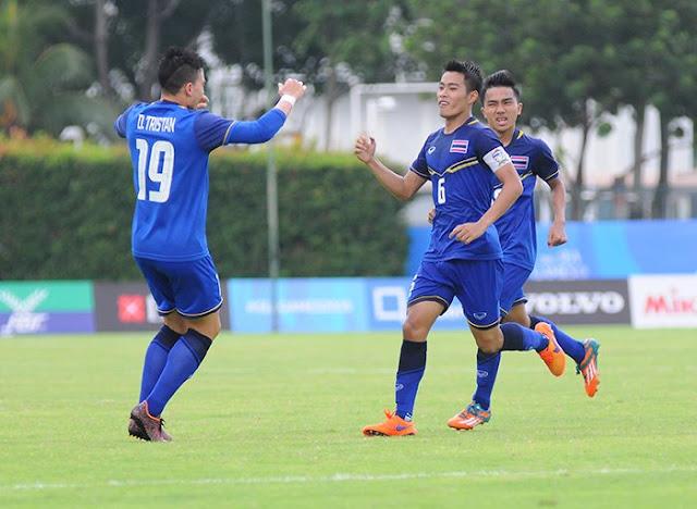 Kèo thơm dự đoán U23 Thái Lan vs U23 Brunei