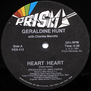 Geraldine Hunt With Charlie Marotta - Heart Heart 1981