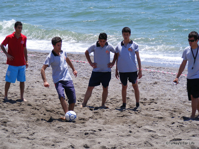 Beach Football, Çalış Carnival 2012