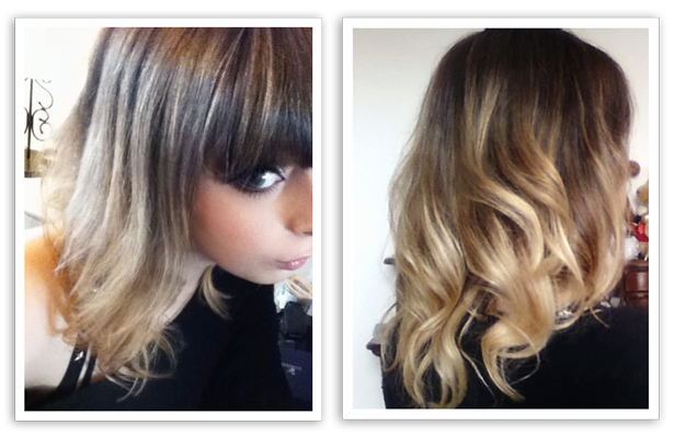 Juicy Blog My New Ombre Hair
