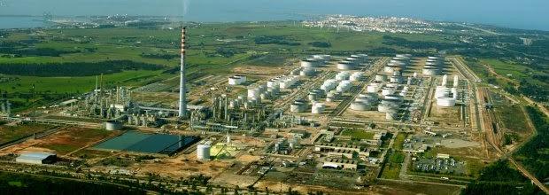 A previsão é para a área metropolitana de Sines instalar a zona maior industrial de Sines Refsines