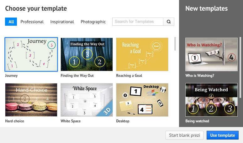 new templates on prezi | prezi b prezi blog, Presentation templates