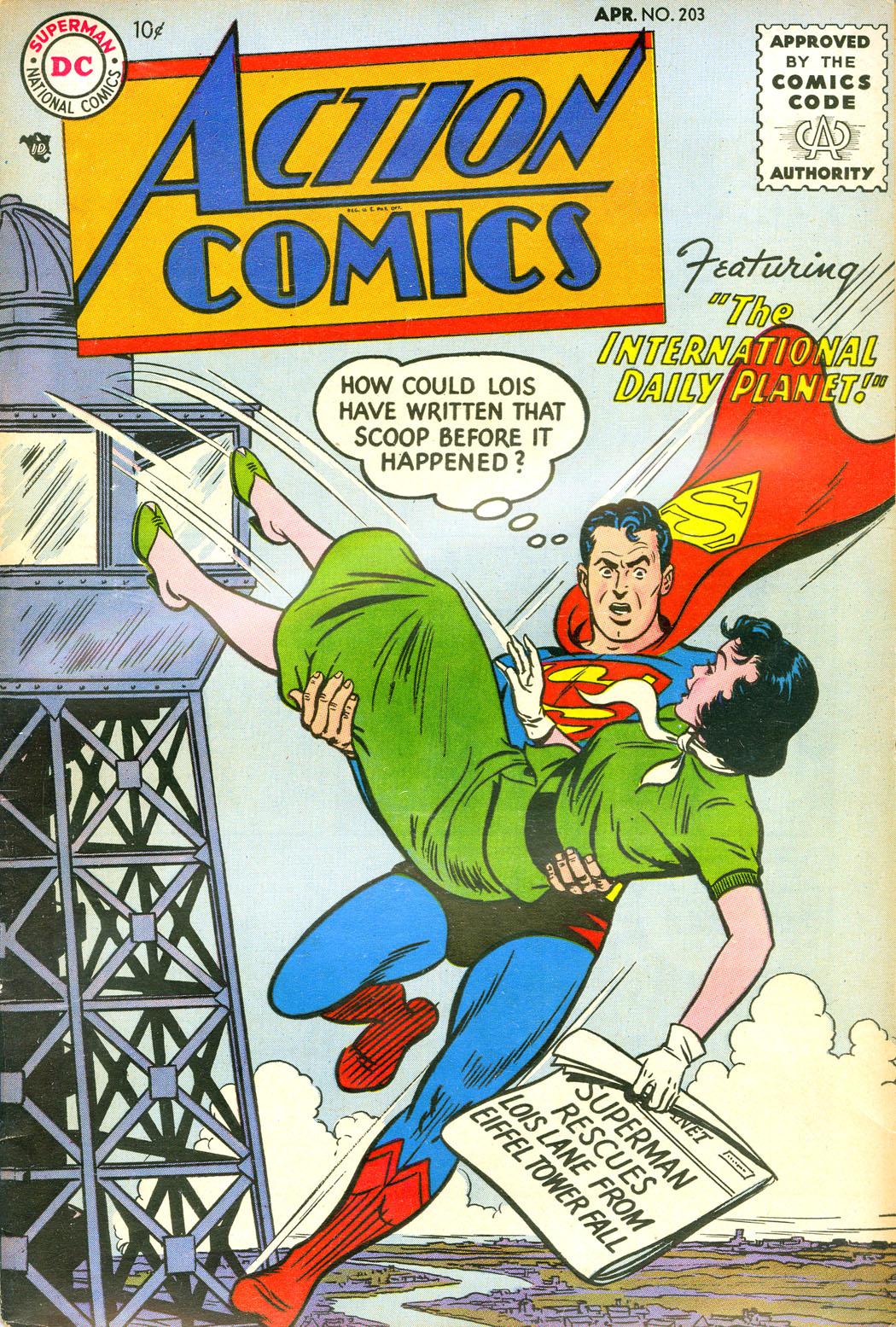Action Comics (1938) 203 Page 1