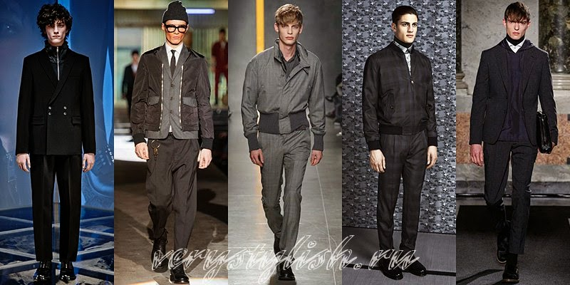 Fall Winter 2015 Men's Business Style