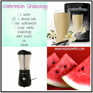 Watermelon Vanilla Shakeology Recipe