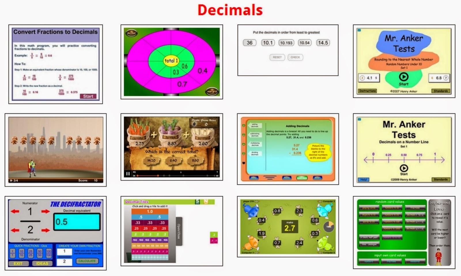 http://www.classmaths.com/decimals.html