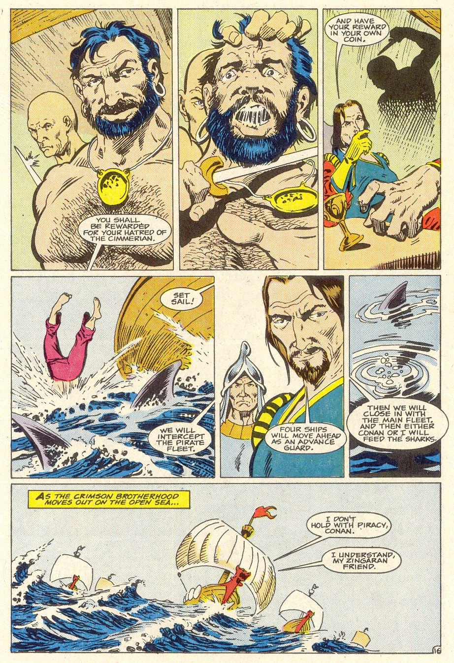 Conan the Barbarian (1970) Issue #186 #198 - English 17