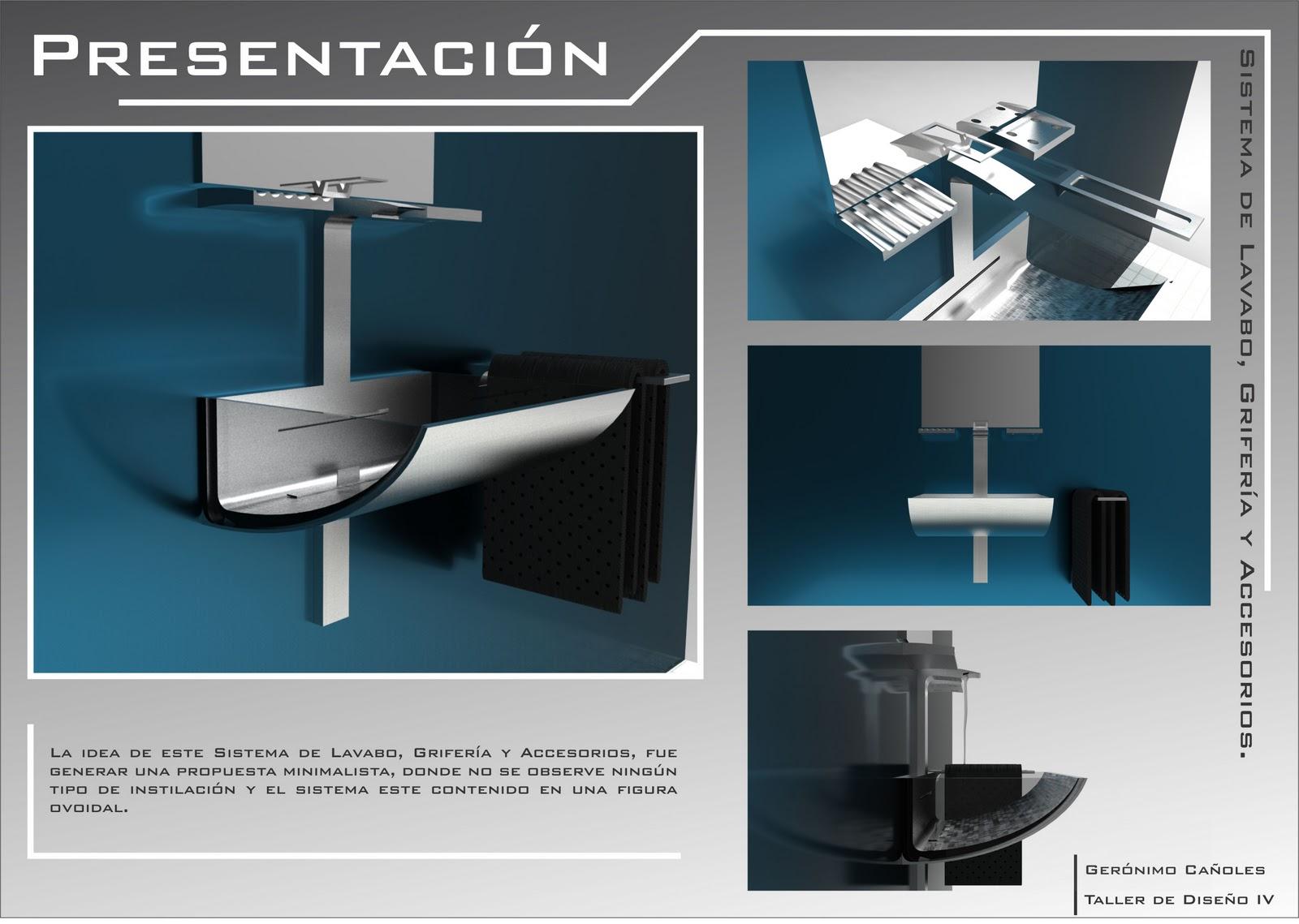 Geroonimoodi sistema de lavabo griferia y accesorios for Accesorios para lavabo