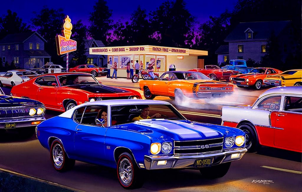 paisajes-con-carros-pintados-al-oleo
