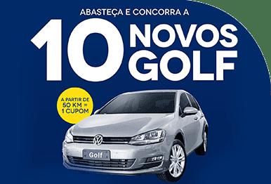 Abasteça e concorra a 10 Novos Golf.