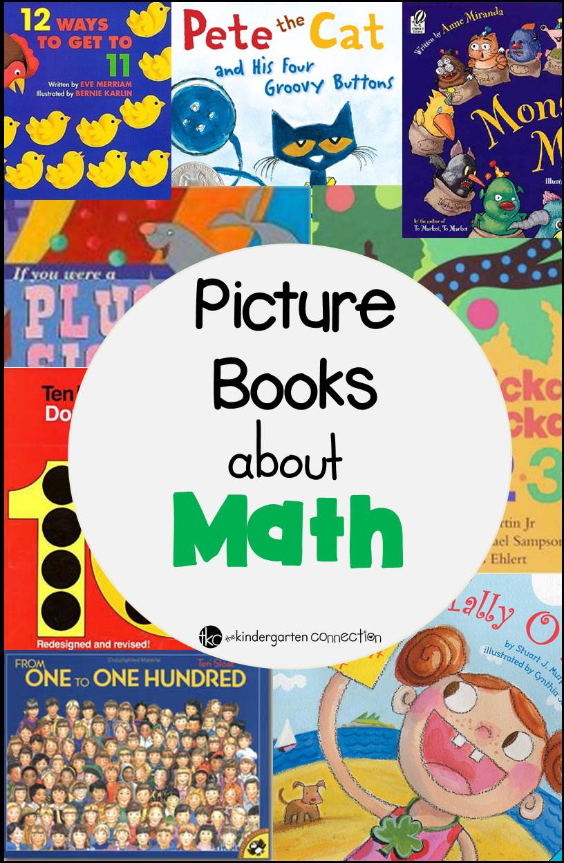 Books About Math - The Kindergarten Connection