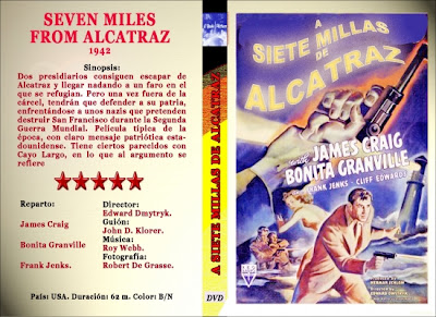A siete millas de Alcatraz (1942) | Cartatula | Cine clásico