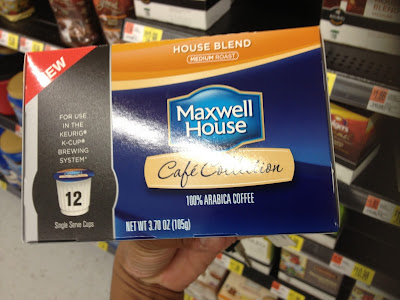 Maxwell House is coming home with me!