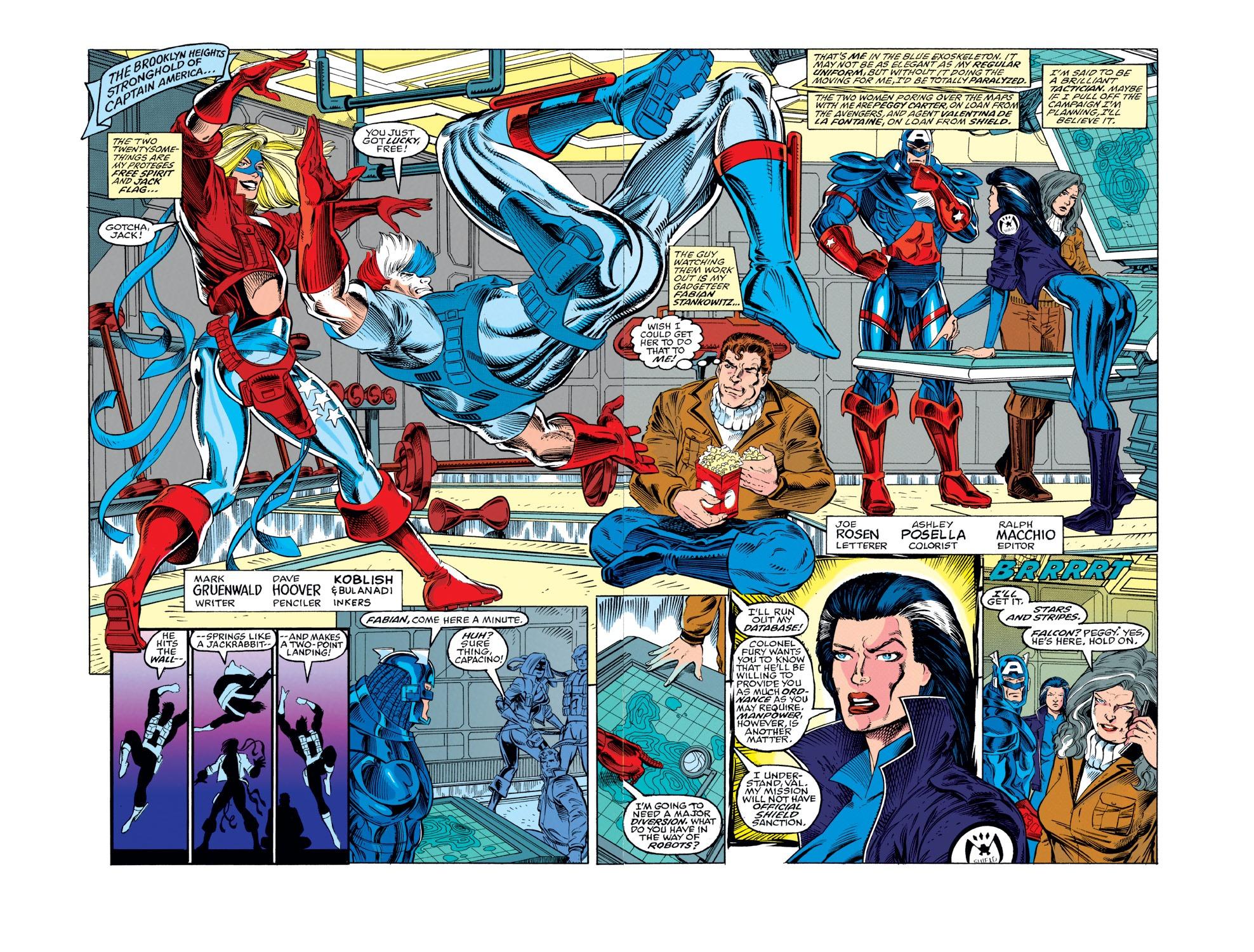 Captain America (1968) Issue #439 #389 - English 5